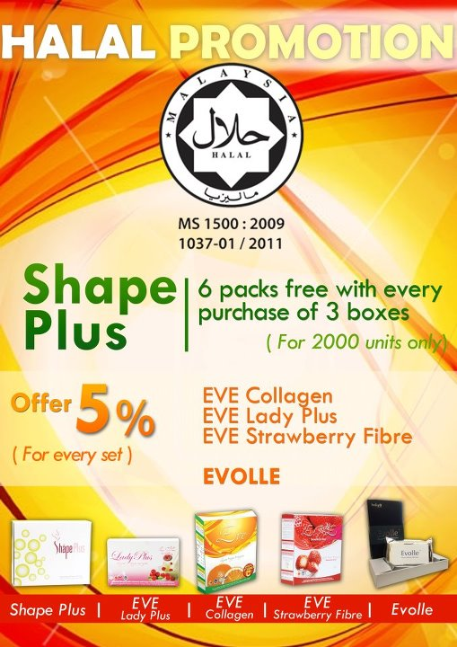 HALAL PROMOTION!!! HURRY UP… GRAB NOW… LIMITED STOCK!!!