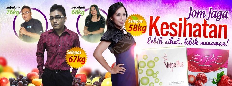Shape plus slimming juice produk slimming terbaik, eve collagen untuk