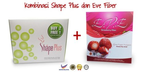 shape plus eve fiber