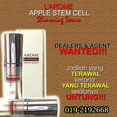 larome slimming serum agen wanted